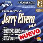 Latin Stars Karaoke CDG #415   JERRY RIVERA VOLUME 2
