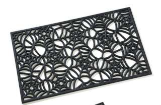 Rubber Halloween Spider Web Home Kitchen Doormat
