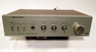 Realistic SA 150 Integrated Stereo Amplifier Amp Phono PreAmp