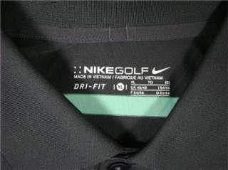 NIKE GOLF   DRI FIT Mens Gray Striped Polo Sports Shirt AWESOME Sz XL