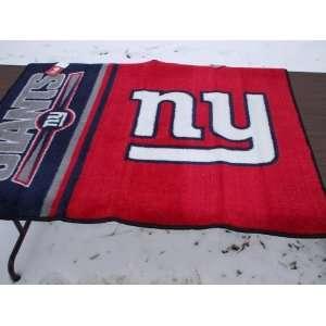 Star 34x44.5 Floor Mat (Rug)   New York Giants NFL Football Home