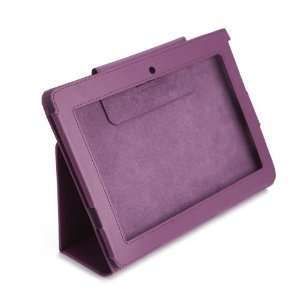 HDE(TM) Purple Leather Case for Sony S1