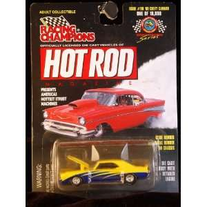 Racing Champions   Hot Rod Magazine   1969 Chevy Camaro   157 Scale