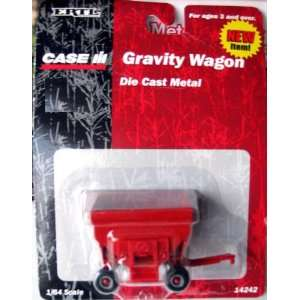 ERTL 1/64 Scale Case IH Gravity Wagon Farm Toy: Toys