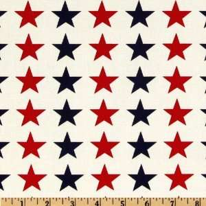 44 Wide Quilts of Valor Large Stars White/Red/Blue