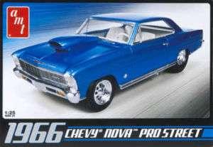 AMT 1/25 1966 Chevy Nova Pro Street Model Kit