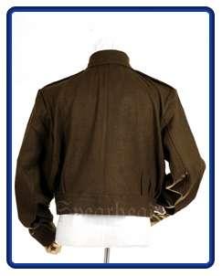 WW2 British Officers Gabardine Battle Dress Jacket M