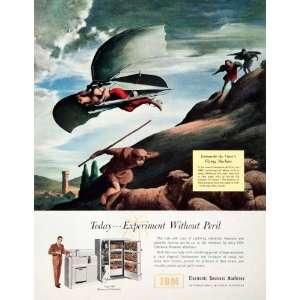Ad IBM Electronic Business Machines Leonardo da Vinci Flying Machine