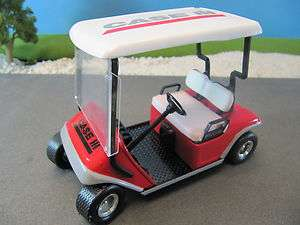Diecast Golf Cart CASE IH Tractor Ag Equipment Pre Production MIB 1:16
