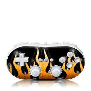 Heat Design Skin Decal Sticker for the Wii Classic
