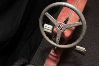 VERY RARE  1950s VINTAGE Eska IH Farmall 560 Pedal Tractor car
