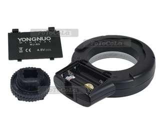 YongNuo WJ 60 macro circular continuous LED light f Canon Nikon Sony