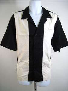 PORT AUTHORITY Mens Black Short Sleeve Shirt Sz L