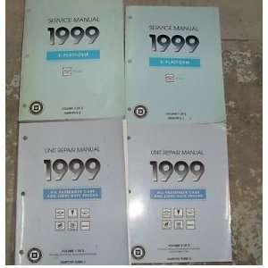 1999 Chevrole Chevy Geo Prizm Service Shop Manual Se (2