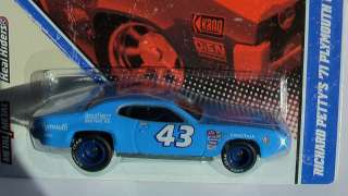 VINTAGE RACING G CASE RICHARD PETTYS 71 PLYMOUTH GTX NEW IN HAND