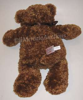 Rare GUND COMFORT CUB 45643 Plush Brown Teddy Bear Locket Stuffed