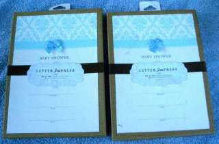 Print Your Own * Baby Boy Shower Invitations * 8 * NIP