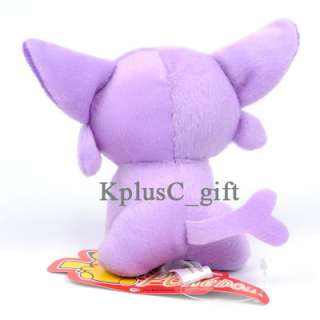 S390 Pokemon Pikachu Plush Soft Doll Toys Espeon 5