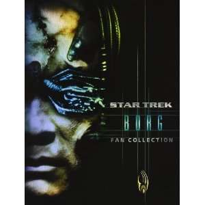 star trek borg fan collection (4 Dvd) Italian Import