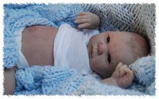 Reborn GABRIEL ooak doll lifelike fake art ARTIST Baby CUSTOM Michelle
