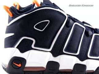 Max More UpTempo Navy Blue/White Suede Retro Pippen Trainer Men Shoes