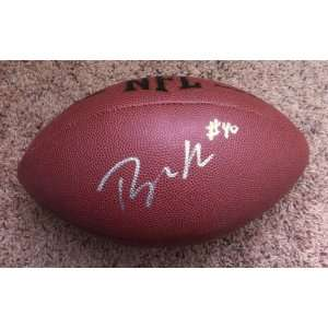 PEYTON HILLIS SIGNED AUTOGRAPHED FOOTBALL CLEVELAND BROWNS
