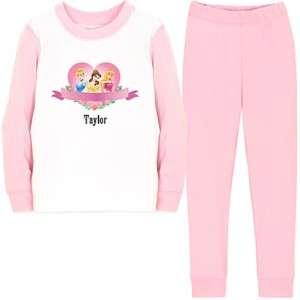 NWT Disney Princess Pajamas for Girls  Size 4