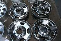 four 06 10 Ford F250 F350 Factory 18 Chrome Clad Wheels OEM Rims 3688
