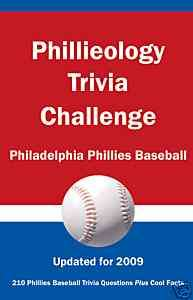 PHILADELPHIA PHILLIES BASEBALL TRIVIA BOOK   PHILLY MLB