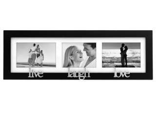 LIVE LOVE LAUGH 3 OPENING 4X6/3X5 PICTURE PHOTO FRAME