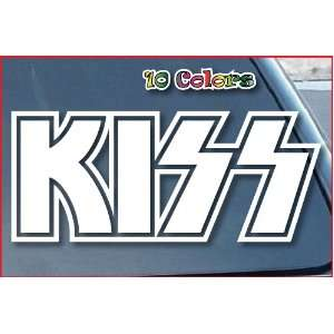 Kiss Rock Band Car Window Vinyl Decal Sticker 12 Wide