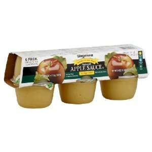 Wgmns Food You Feel Good About Apple Sauce, Natural, No Sugar Added