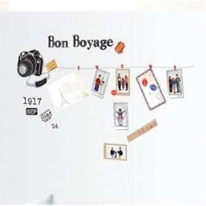 Pictures Camera Wall Sticker Decal for Baby Nursery Kids Room Baby