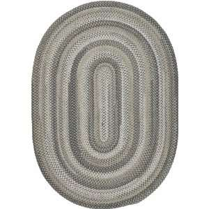 Huntington Braids Collection Braided Oval Area Rug 1.90 x