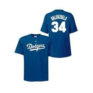 Los Angeles Dodgers Fernando Valenzuela BIG Cooperstown Name