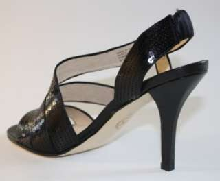 NIB Michael Kors FARRIS Dress Sandal Sequin Black PROM Wedding