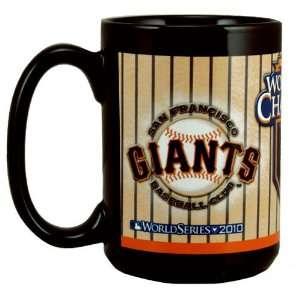 San Francisco Giants 2010 World Series Champions 15oz