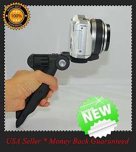 Tripod Hand Held Grip 2 1 Digital Camera Stand Flash New USA in Box