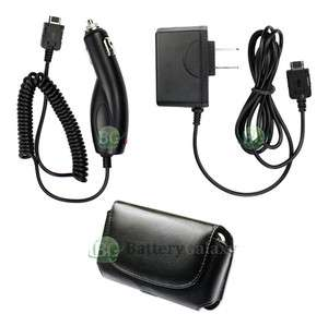 AC +Car Charger +Case Cell Phone for Pantech P7040 Link