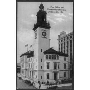 Post Office,Government Bldg,Jacksonville,FL,Duval Co: Home