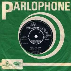 BILLY J. KRAMER Little Children 7 Single Vinyl Record