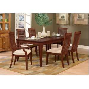 7pc Laurel Heighs Collecion Solid Wood Dining able