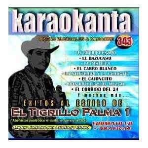 Karaokanta KAR 4343   Al Estilo de Tigrillo Palma   I