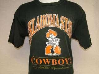vtg OSU COWBOYS t shirt OKLAHOMA STATE 80s, 90s L