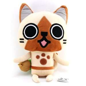 : Banpresto Official Monster Hunter Plush   12   Airu: Toys & Games