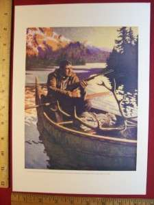 deer rifle print Hunting & Fishing, National Sportsman magazine