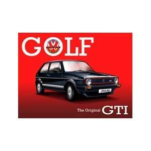 Golf GTI   The Original GTI   Large Metal Sign