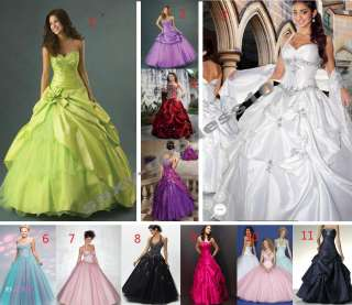 Stock New Evening Dresses Homecoming Prom Formal Party Gown Size 6 8