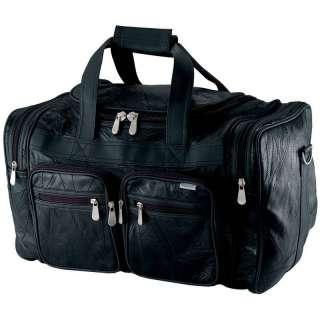 19 Genuine Buffalo Leather Tote Travel Bag