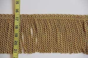 High Quality Bullion Tassel Fringe Trim Gold